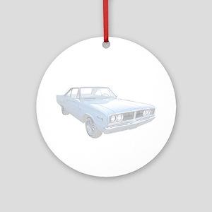 Dodge Coronet Ornament (Round)