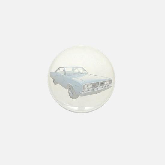 Dodge Coronet Mini Button