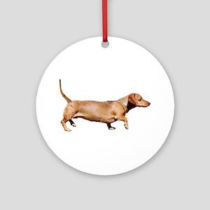 """""""Dachshund 1"""" Ornament (Round)"""
