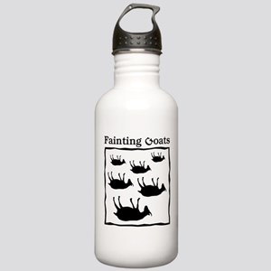 Fainting Goats Stainless Water Bottle 1.0L