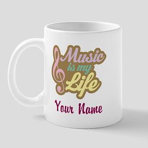 Personalized Music Quote Mug
