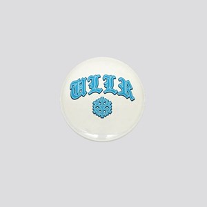 Ullr Fest Snowflake Mini Button