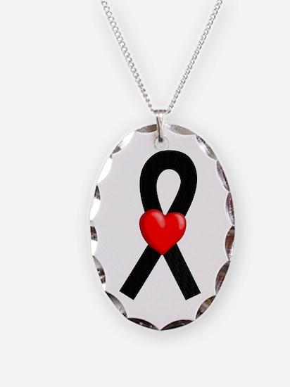 Black Hope Necklace