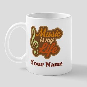 Custom Musical Quote Mug