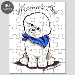 Bichon Mama's Boy Puzzle