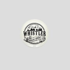 Whistler Old Circle Mini Button
