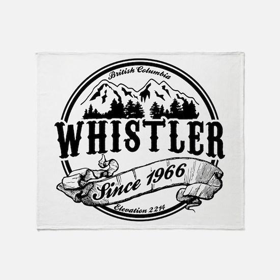Whistler Old Circle Throw Blanket