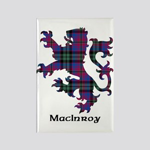 Lion - MacInroy Rectangle Magnet