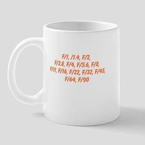 F Stop Mug