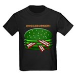 Jingle Burger! Kids Dark T-Shirt