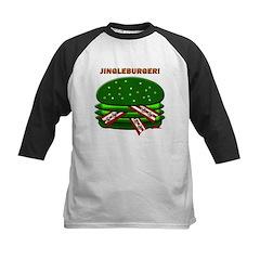 Jingle Burger! Kids Baseball Jersey