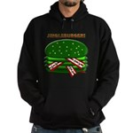 Jingle Burger! Hoodie (dark)