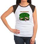 Jingle Burger! Women's Cap Sleeve T-Shirt