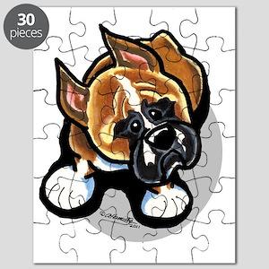 Funny Boxer Cartoon Puzzle