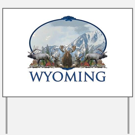 Wyoming Yard Sign