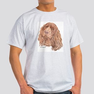 Sussex Spaniel Ash Grey T-Shirt
