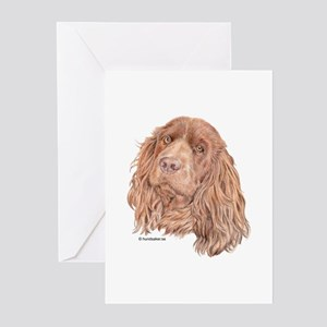 Sussex Spaniel Greeting Cards (Pk of 10)