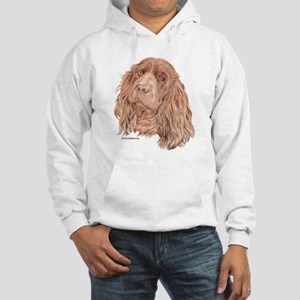 Sussex Spaniel Hooded Sweatshirt