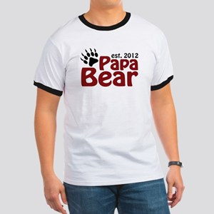 Papa Bear Claw Est 2012 Ringer T