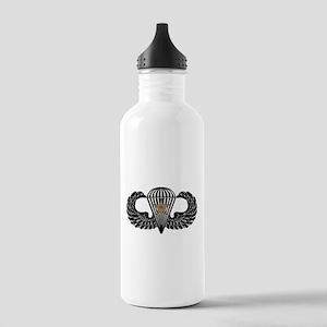Combat Parachutist 1st -- B-W Stainless Water Bott