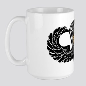 Combat Parachutist 1st -- B-W Large Mug