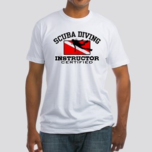 Scuba Diving Instructor Fitted T-Shirt