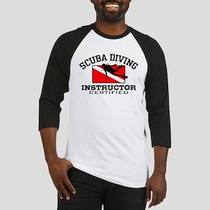 Scuba Diving Instructor Baseball Jersey