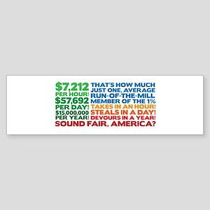 How is that fair? Sticker (Bumper)