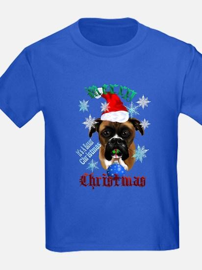 Wonderful-Christmas Boxer Dog T