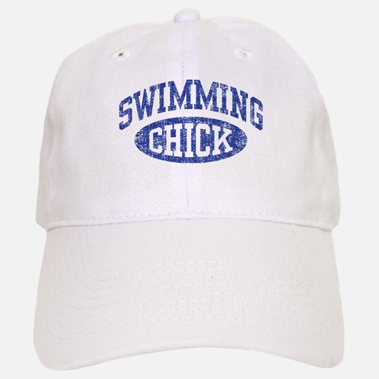 Swimming Chick Baseball Baseball Cap