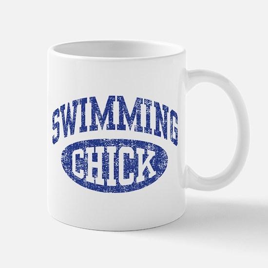 Swimming Chick Mug