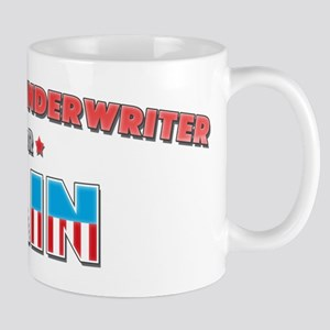 Insurance underwriter for Cai Mug