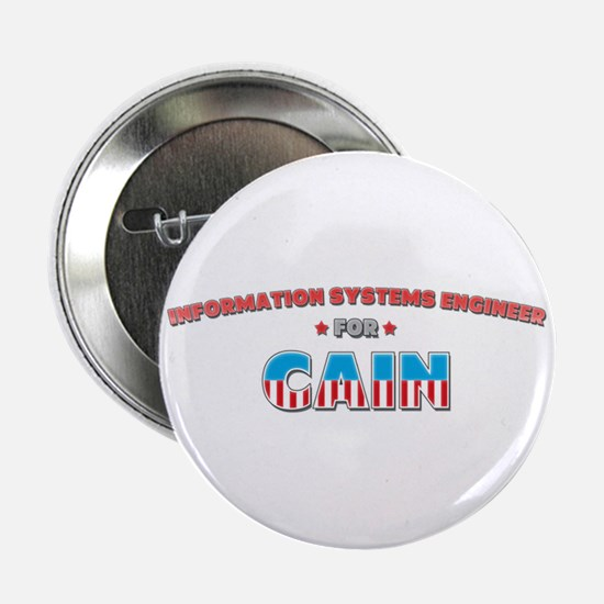"""Information systems engineer 2.25"""" Button"""