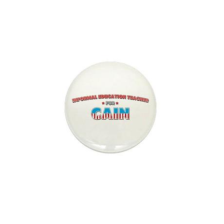 Informal education teacher fo Mini Button (100 pac