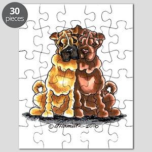 Shar Pei Lover Puzzle