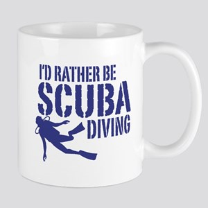 I'd Rather Be Scuba Diving Mug