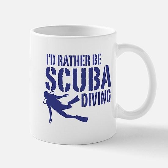 I'd Rather Be Scuba Diving Mug
