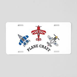 Aviation Plane Crazy Aluminum License Plate