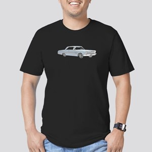 Plymouth Fury 1965 Men's Fitted T-Shirt (dark)