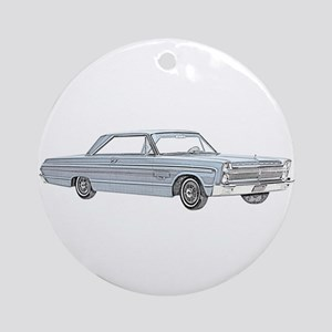 Plymouth Fury 1965 Ornament (Round)