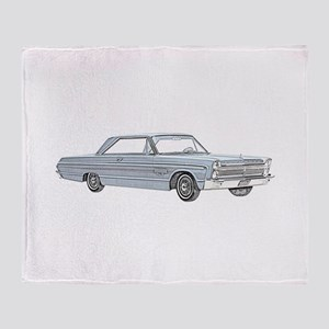 Plymouth Fury 1965 Throw Blanket