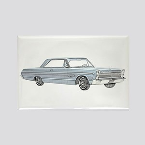 Plymouth Fury 1965 Rectangle Magnet