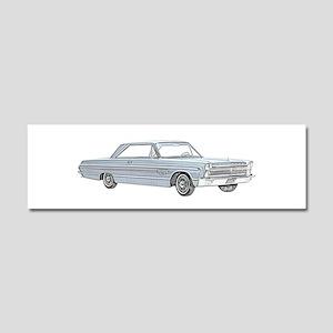 Plymouth Fury 1965 Car Magnet 10 x 3