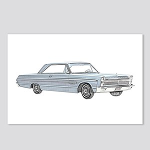 Plymouth Fury 1965 Postcards (Package of 8)