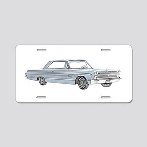 Plymouth Fury 1965 Aluminum License Plate