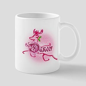 New Hot Pink Reindeer Dancer Mug