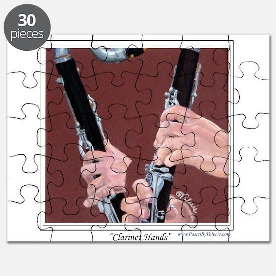 Clarinet Hands Puzzle