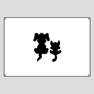 Little cat & dog Banner