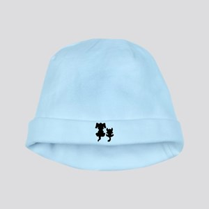 Little cat & dog baby hat