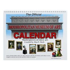 Official Mouseopolitan Museum of Art Calendar.